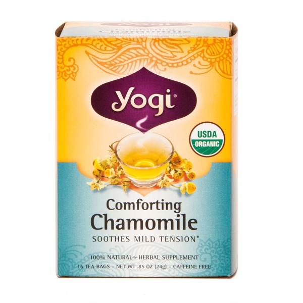 Yogi Comforting Chamomile Herbal Supplement Tea Bags - 16 CT