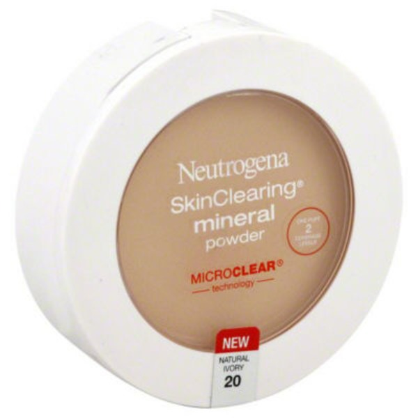 Neutrogena® Mineral Powder Natural Ivory / 20 Skin Clearing®