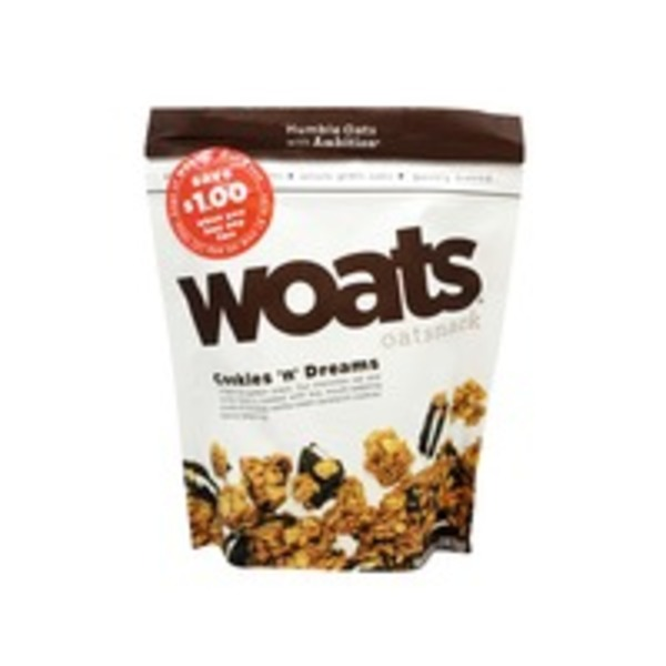 Woats Oatsnack Cookies n' Dreams