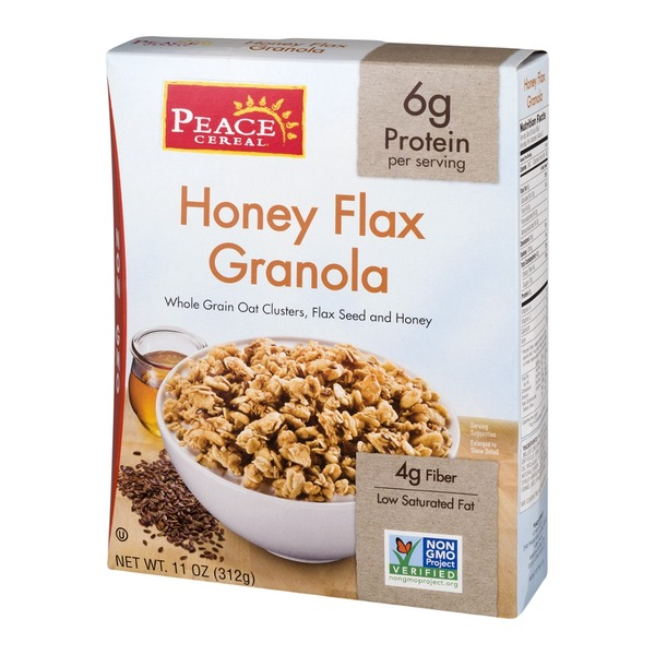 Peace Cereal Granola Honey Flax