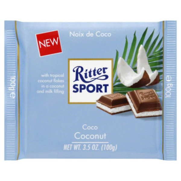 Ritter Sport Milk Chocolate Coconut