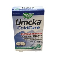Nature's Way Mint Umcka Cold Care Chewable Tablets