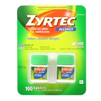 Zyrtec Allergy D Cetirizine HCl 10mg Antihistamine Tablets