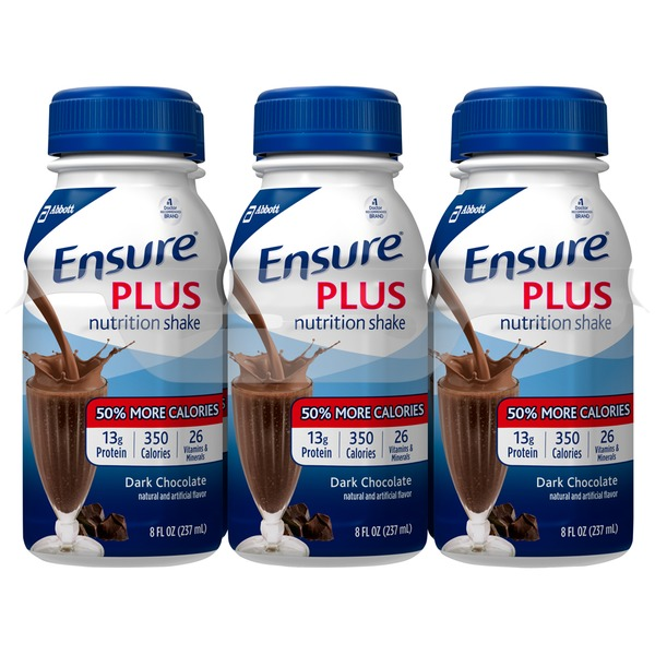 Ensure Plus Dark Chocolate Nutrition Shake