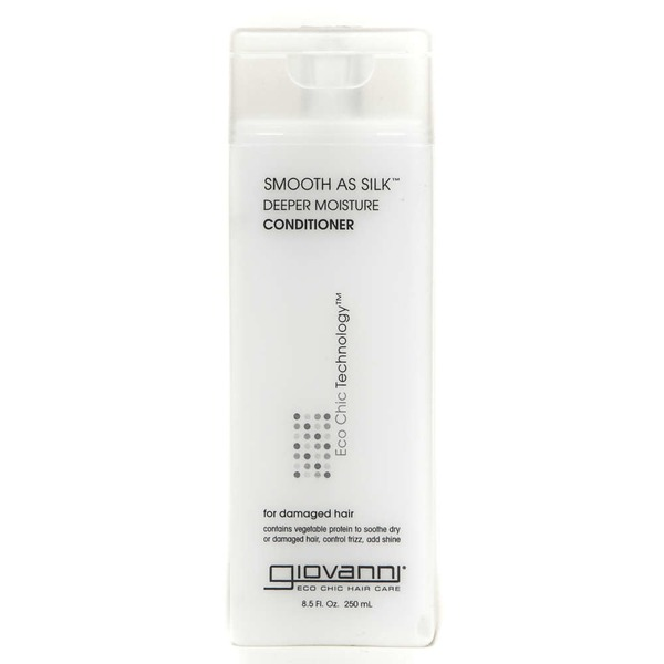 Giovanni Eco Chic Technology Smooth as Silk Deep Moisture Conditioner for Damaged Hair