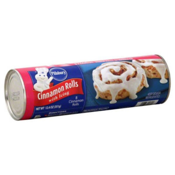 Pillsbury with Original Icing Cinnamon Rolls