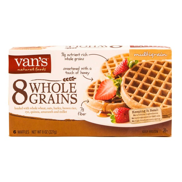 Van's Whole Grains Waffles Multigrain