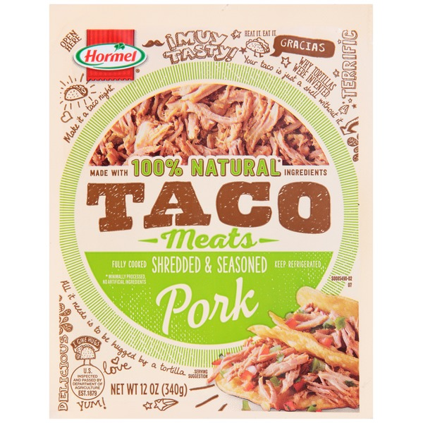 Hormel Taco Meats Shredded & Seasoned Pork