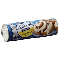 Pillsbury Cinnamon Rolls Cinnabon Flaky With Buttercream Icing 8 Count