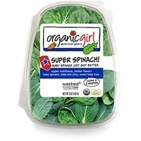 Organic Girl Super Spinach!