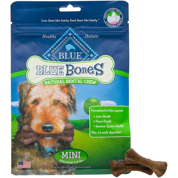 Blue Buffalo Dental Chew, Natural, Mini