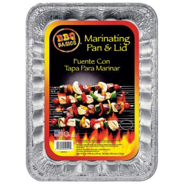 BBQ  Basics Marinating Pan & Lid
