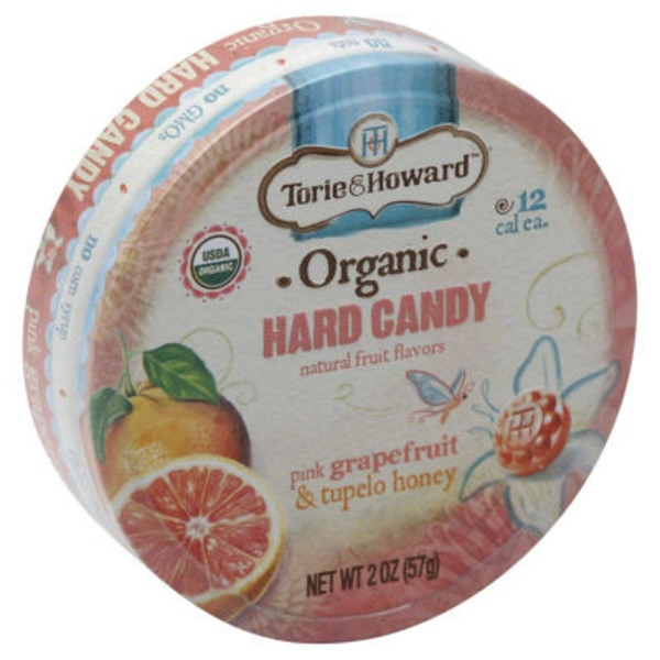 Torie & Howard Organic Hard Candy Blood Orange and Honey