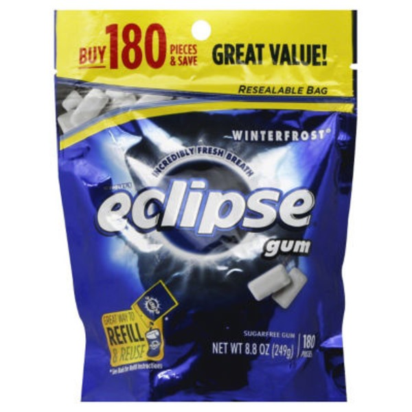 Eclipse Winterfrost Sugar-Free Gum