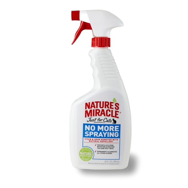 Nature's Miracle No More Spraying Just For Cats Stain & Odor Remover