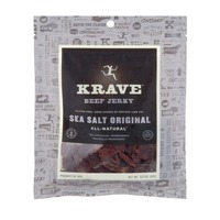 Krave Beef Jerky, Sea Salt Original