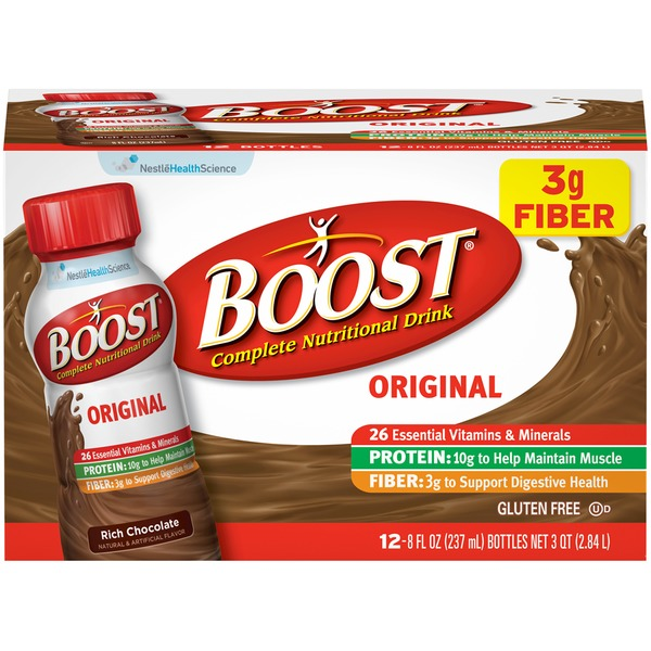 Boost Original Chocolate Sensation Complete Nutritional Drink