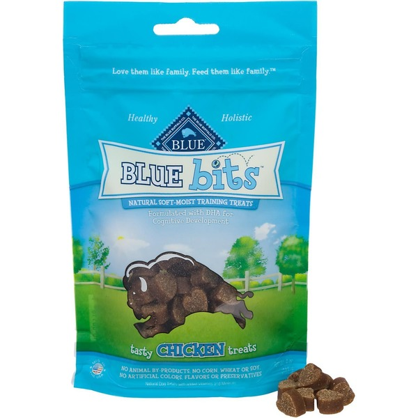 Blue Buffalo Soft-Moist Tasty Chicken Recipe Training Treats For Dogs