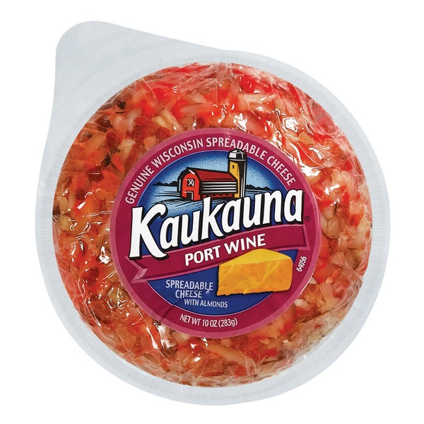 Bel Kaukauna Port Wine Cheeseball Spreadable Cheeseball