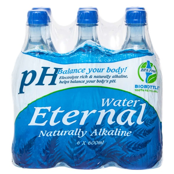 Eternal Water Naturally Alkaline Spring Water