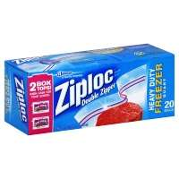 Ziploc Bags Freezer Quart