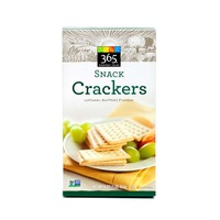 365 Natural Buttery Flavor Snack Crackers