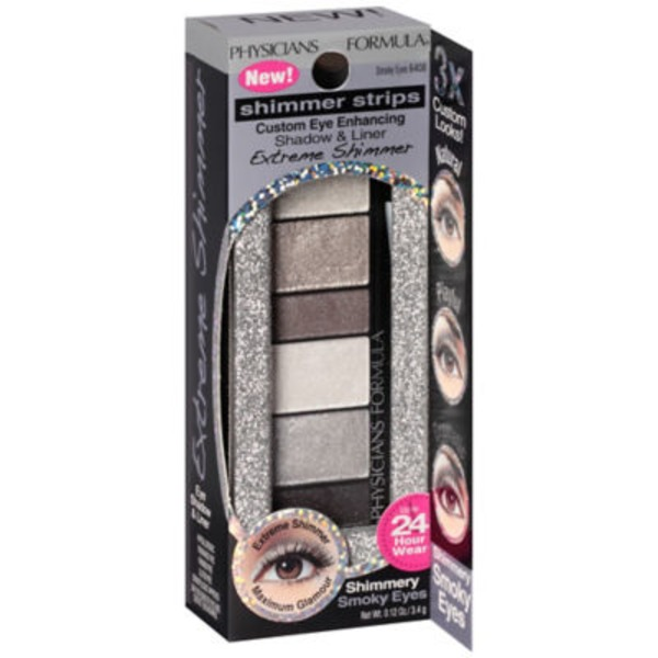 Shimmer Strips 6408C Extreme Shimmer Smoky Eyes--Etincelants Extremes Yeux Charbonneux Shadow & Liner--Fard a Paupieres et Eyeliner