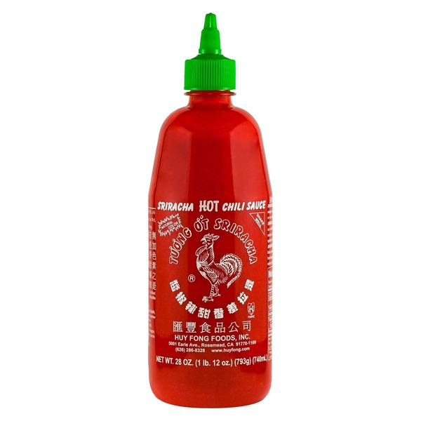 Huy Fong Foods Hot Sriracha Chili Sauce