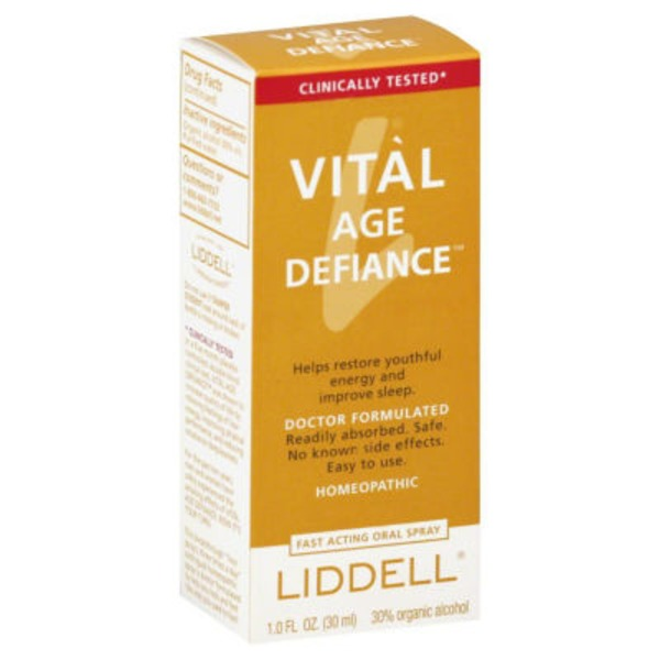 Liddell Vital Age Defiance, Fast Acting Oral Spray