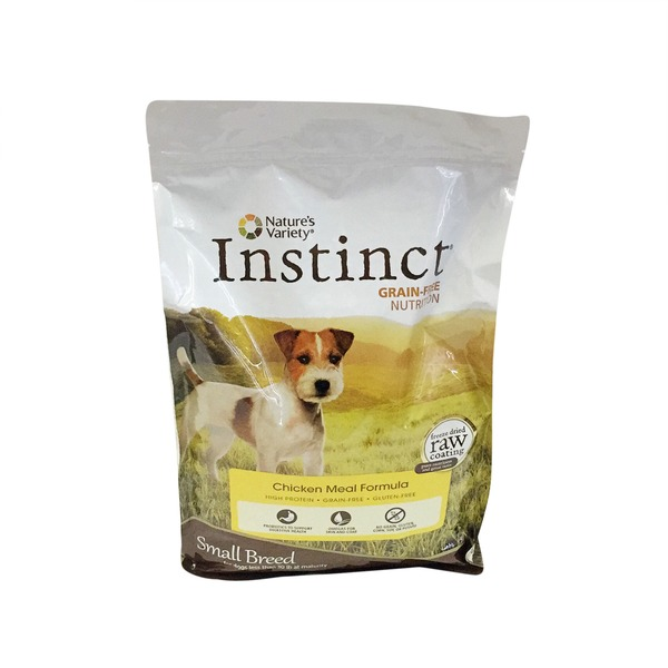 Nature's Variety Dog Instinct Small Breed Gluten Free Chicken