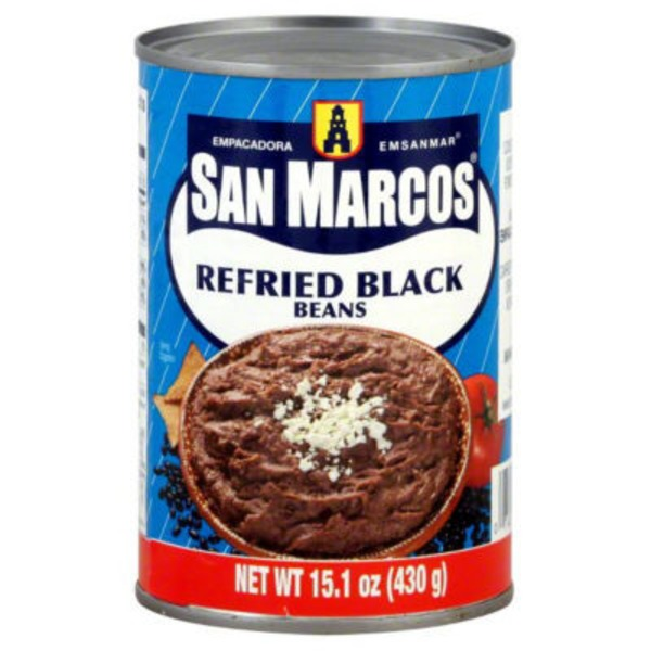 San Marcos Refried Black Beans