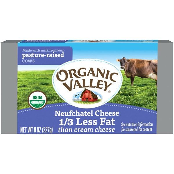Organic Valley Neufchatel Cream Cheese Spread