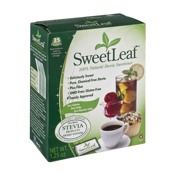 Sweetleaf Stevia Natural Stevia Sweetener - 35 CT