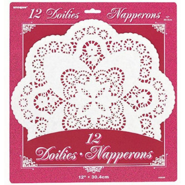 Napperons Paper Doilies 12 Inch Round