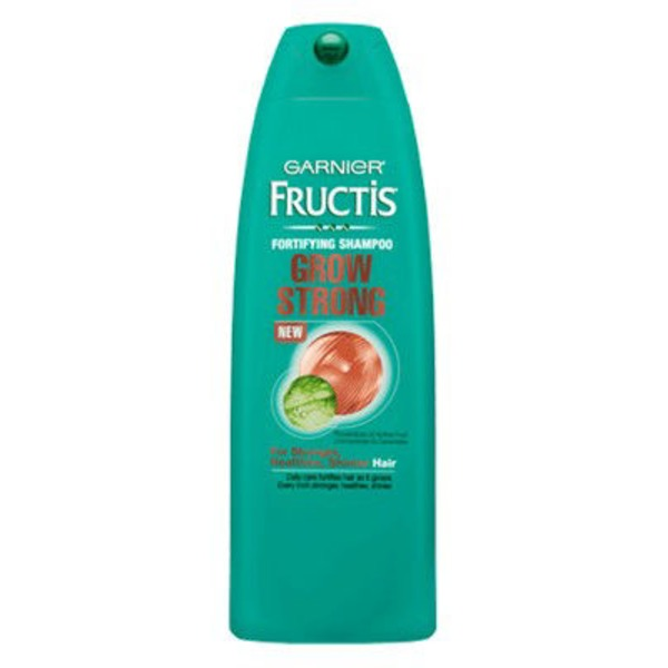 Fructis® For Stronger, Healthier, Shinier Hair Grow Strong Shampoo