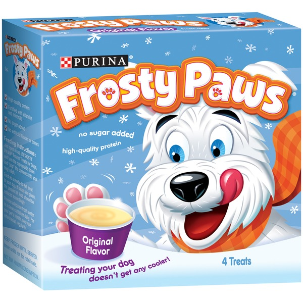 Frosty Paws PURINA FROSTY PAWS Original Frozen Treats for Dogs
