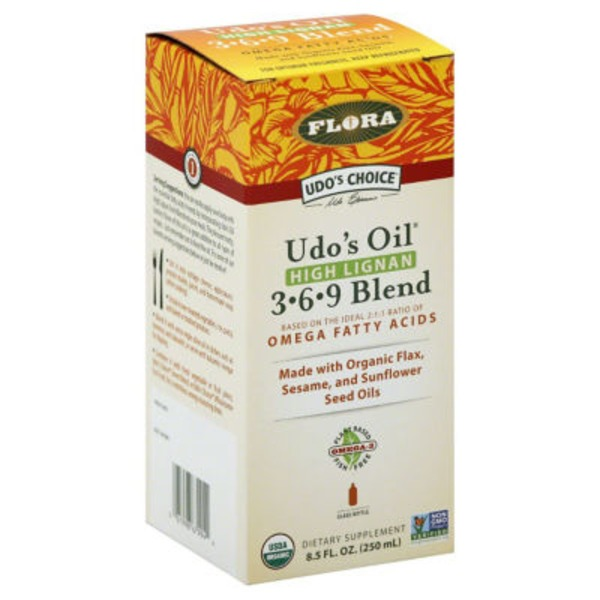 Flora Udo's Oil High Lignan 3-6-9 Blend