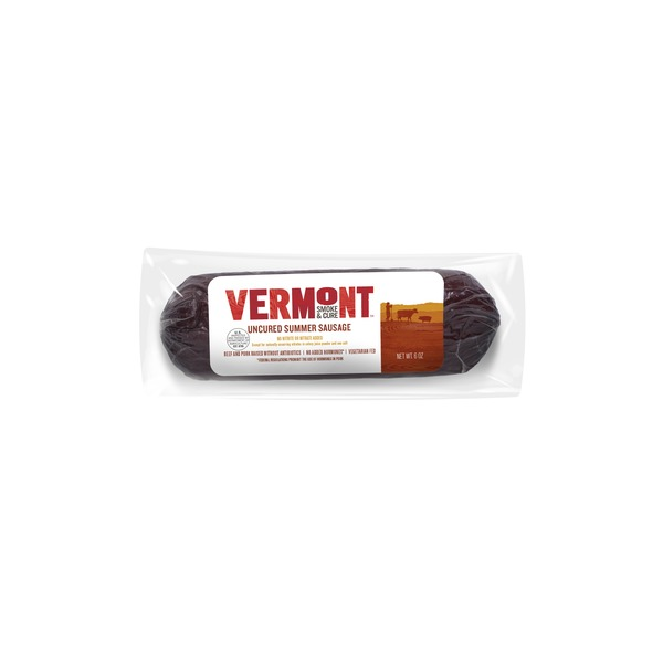 Vermont Smoke and Cure Vermont Smoke & Cure Summer Sausage Uncured