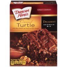 Duncan Hines: Chocolate Lover's Turtle Brownies, 16.70 oz