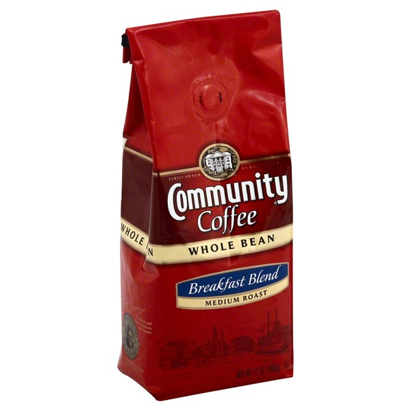 Community Coffee Whole Bean Coffee Medium Roast Breakfast Blend