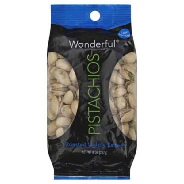 Wonderful Roasted Lightly Salted Pistachios