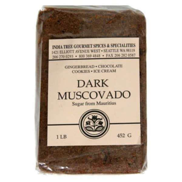 India Tree Muscovado Dark Sugar