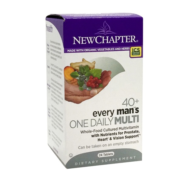 New Chapter 40+ Every Man's One Daily Multi Tablets