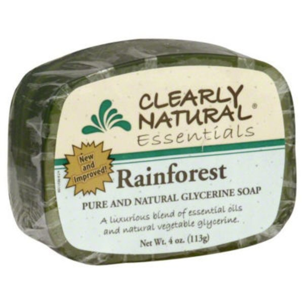 Clearly Natural Essentials Glycerine Soap Rainforest