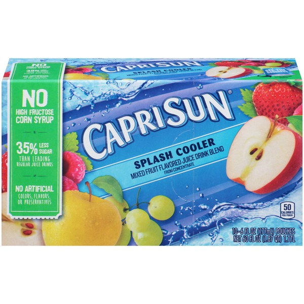 Caprisun Splash Cooler Juice Drink