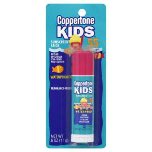 Coppertone Kids Broad Spectrum SPF 55 Stick Sunscreen