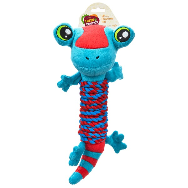 Leaps & Bounds Lizard Rope Wrap Medium Dog Toy