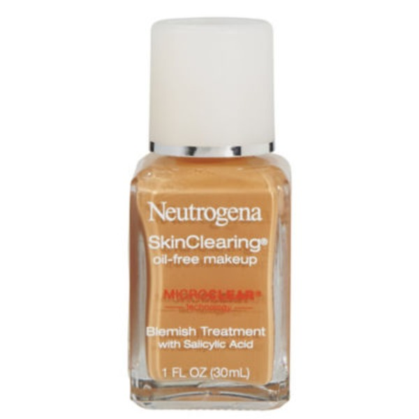 Neutrogena® Oil-Free Cocoa 115 Skin Clearing® Foundation