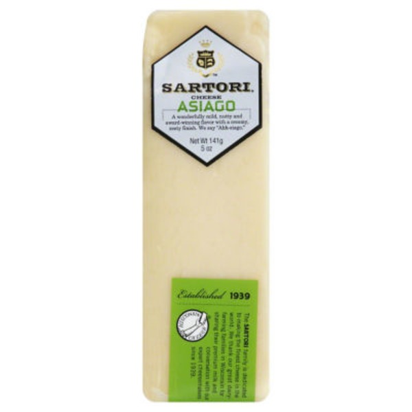 Sartori Asiago Cheese