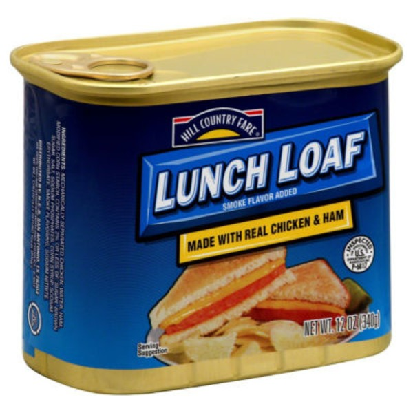 Hill Country Fare Lunch Loaf